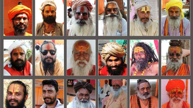 06 Different akhadas have different tilak styles