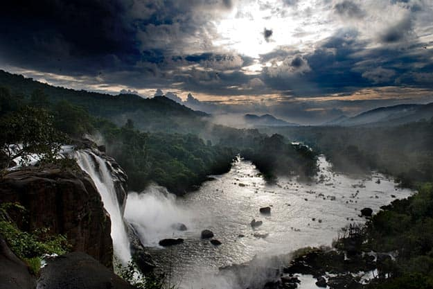 Athirappilly-falls-kerala