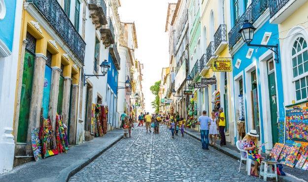 Historic Centre of Salvador Bahia in Brazil