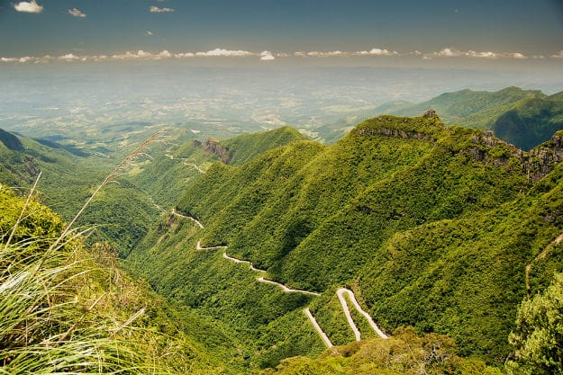 Rio do Rastro mountain road Santa Catarina Brazil