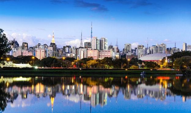 Sao Paulo City Brazil
