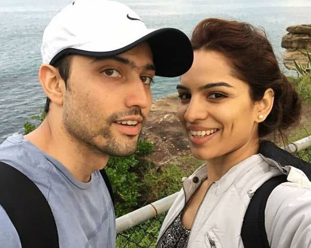 Shikha honeymoon