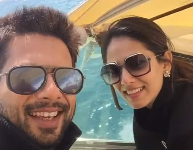 shahid kapoor and mira holiday