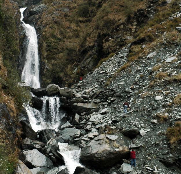 Bhagsunag waterfall Mcleod-Ganj