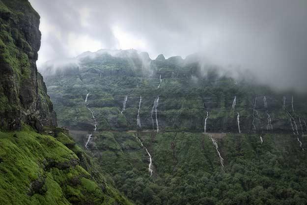 Malshej Ghats in the monsoons