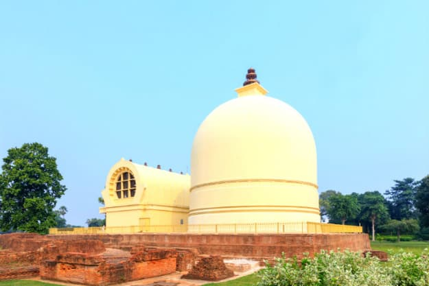 Parinirvana Stupa and Temple