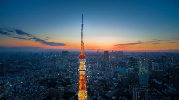 Sunset view Tokyo1