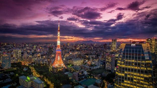 Sunset view Tokyo2