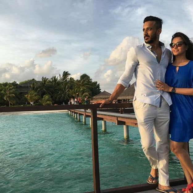 Anita Hassanandani And Rohit Reddy 39 S Romantic Maldives Photos Are Too Hot To Handle