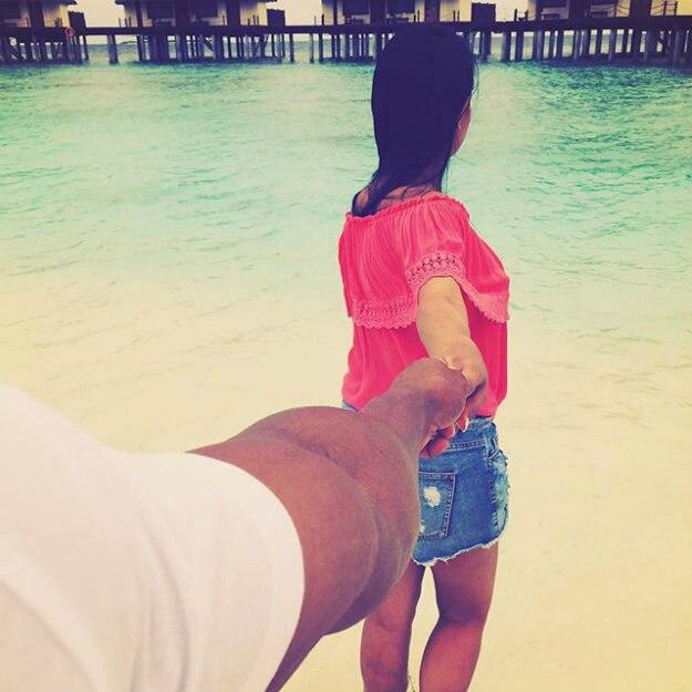 anita rohit maldives 2