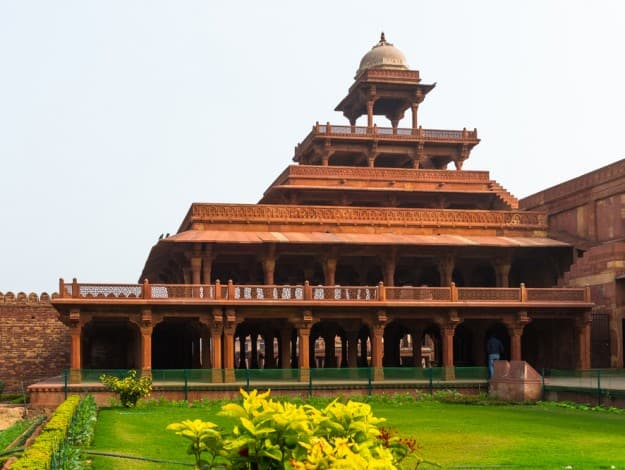 Fatehpur Sikri, a city in the Agra District