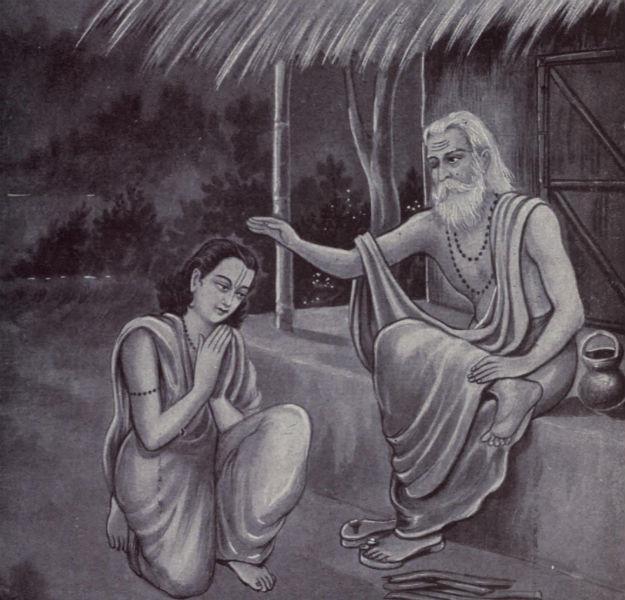 Guru Purnima, Photograph Courtesy: Wikimedia Commons