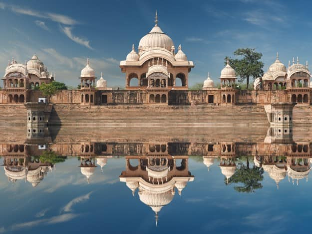 The Kusum Sarovar Lake is one of the most visited places in Mathura. It is surrounded by numerous temples and ashrams.