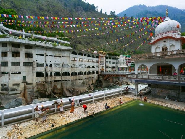 View of the Manikaran.