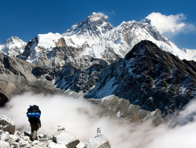 12. Mount Everest, Nepal-Tibet