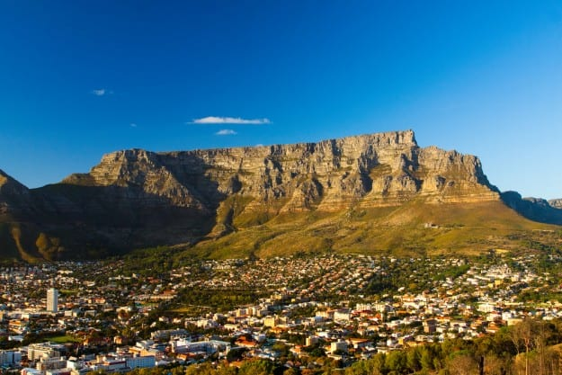 17. Table Mountain, South Africa