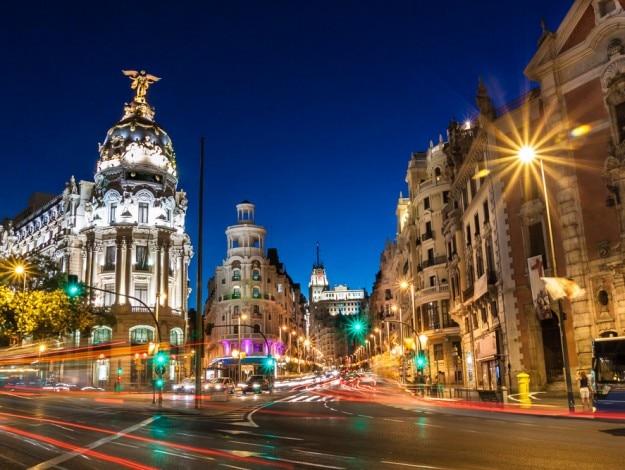 Madrid in Spain