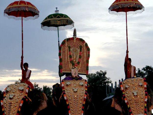 Photograph courtesy: Hari Vishnu/Wikimedia Commons https://en.wikipedia.org/wiki/File:ThrikkakaraAarattu.jpg