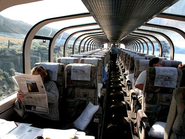 Indian Railways plans to introduce glass-topped coaches like this one very soon