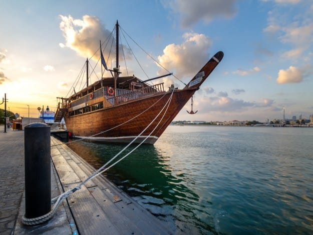 Honeymoon package  Dhow cruise