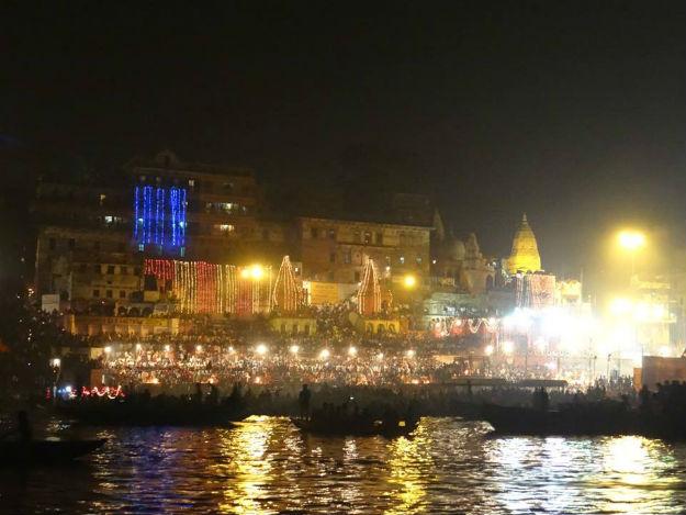Dev Deepawali 2017 Celebration in Varanasi