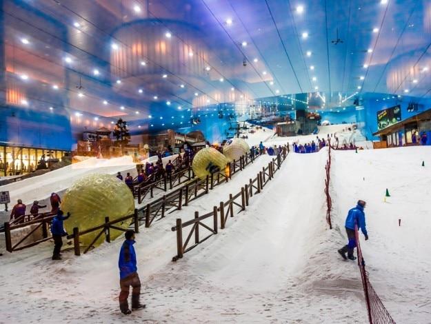 Honeymoon package  ski dubai