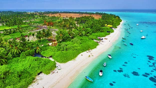 how to go maldives from india