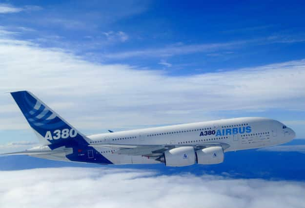 A380 first flight with EA engines
