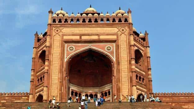 Ethnic ruins of Fatehpur Sikri