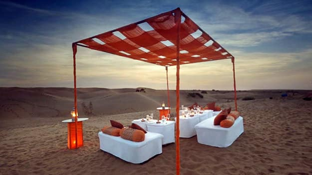 while it may be considered slightly offbeat jaisalmer in rajasthan can be more romantic than you can inagine mesmerizing sunsets in the deserts make for a - Places To Go On Valentines Day