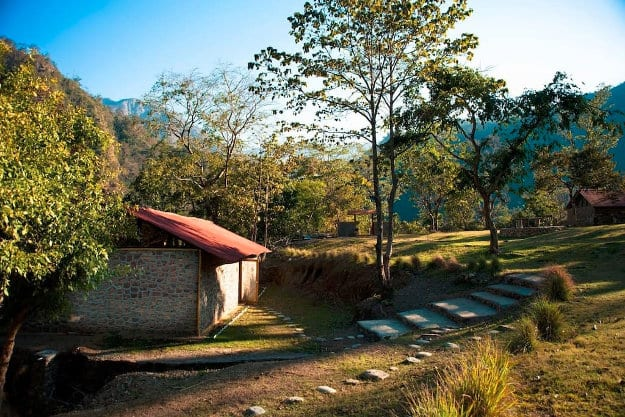 Aashraya on Ganga - Corner Cottage