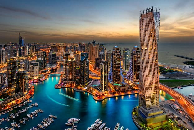 Dubai-Marina-view-from-top