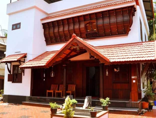 Traditional Kerala Wooden House