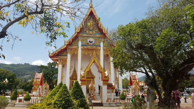 Chalong Temple in Phuket
