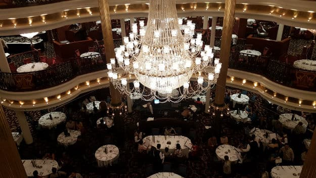 Main Dining Hall on Mariner of the Seas