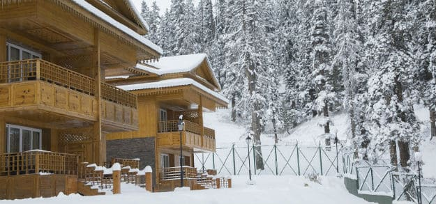 Lovely Khyber resort in Gulmarg