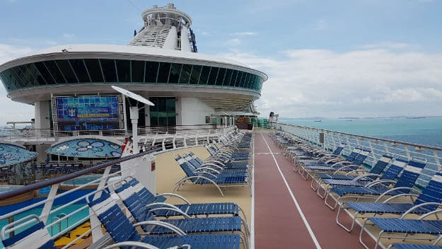 Ship deck - Mariner of the Seas