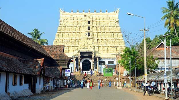 Padmanabhaswamy temple in Kerala