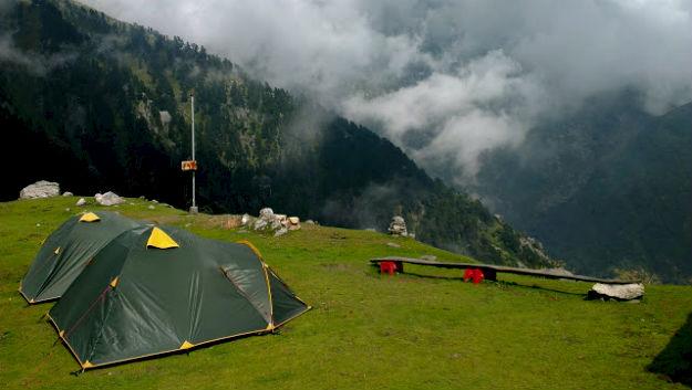 Triund Hill campsite, Photograph Courtesy: Dilip Merala