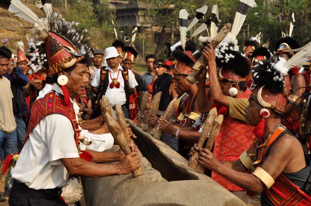 Mon, Nagaland - Aoling Festival