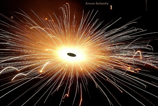 Fireworks on the eve of Vishu, Photograph Courtesy: Aroon Kalandy/Creative Commons