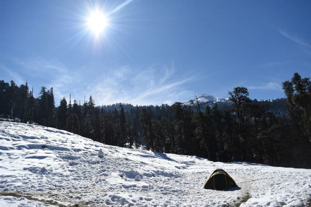 Manali in the winter
