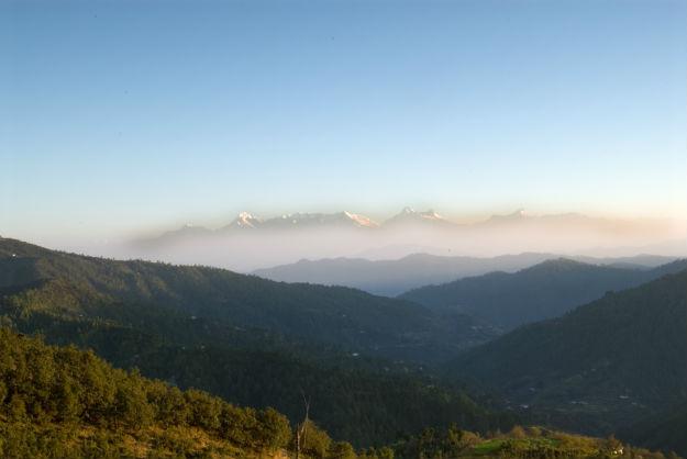 Mukteshwar in Nainital district of Uttarakhand