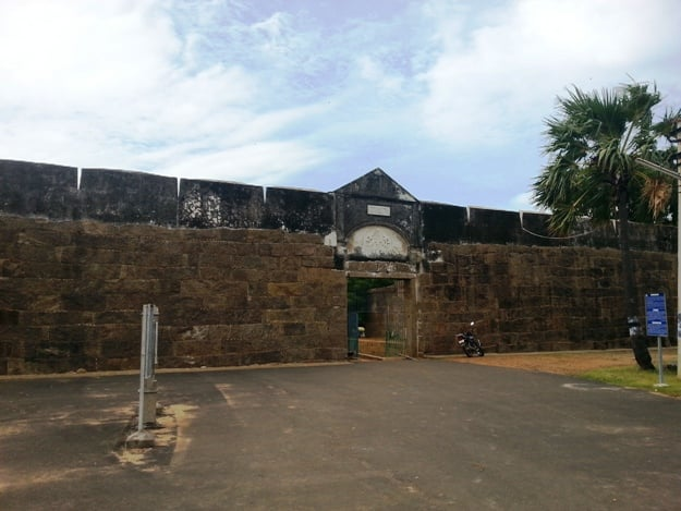 Vattakottai Fort, Photo Courtesy: Wikimedia Commons