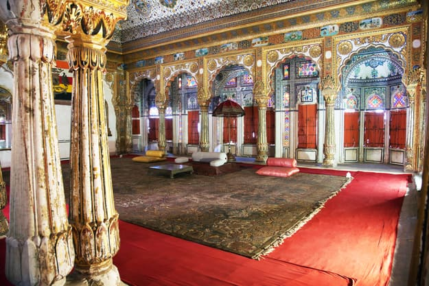 Phool Mahal, Mehrangarh Fort