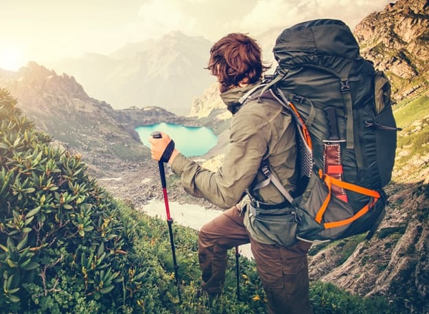 Tighten your backpack before you hit the trail.