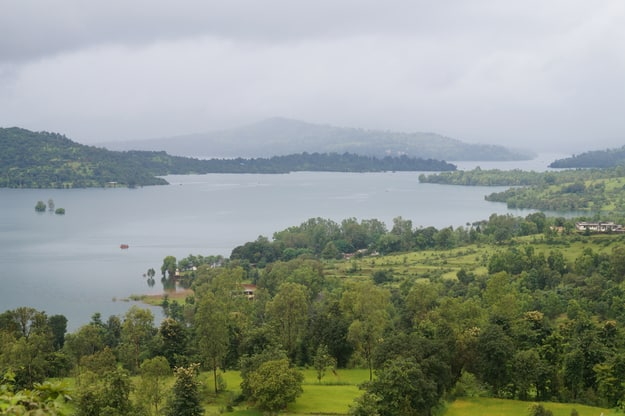 Koyna Dam backwater