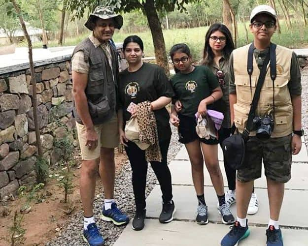 Anil Kumble family vacation
