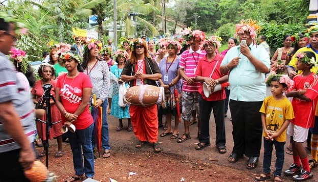 The people of the Carrem ward, in the Bardez village of Socorro celebrate Sao Jaoao