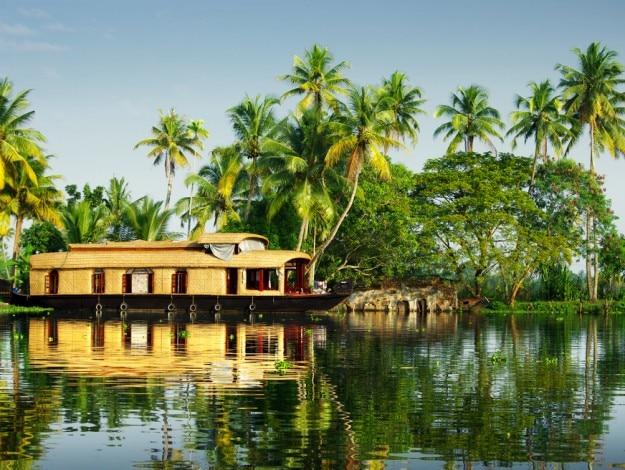 Alleppey in Kerala